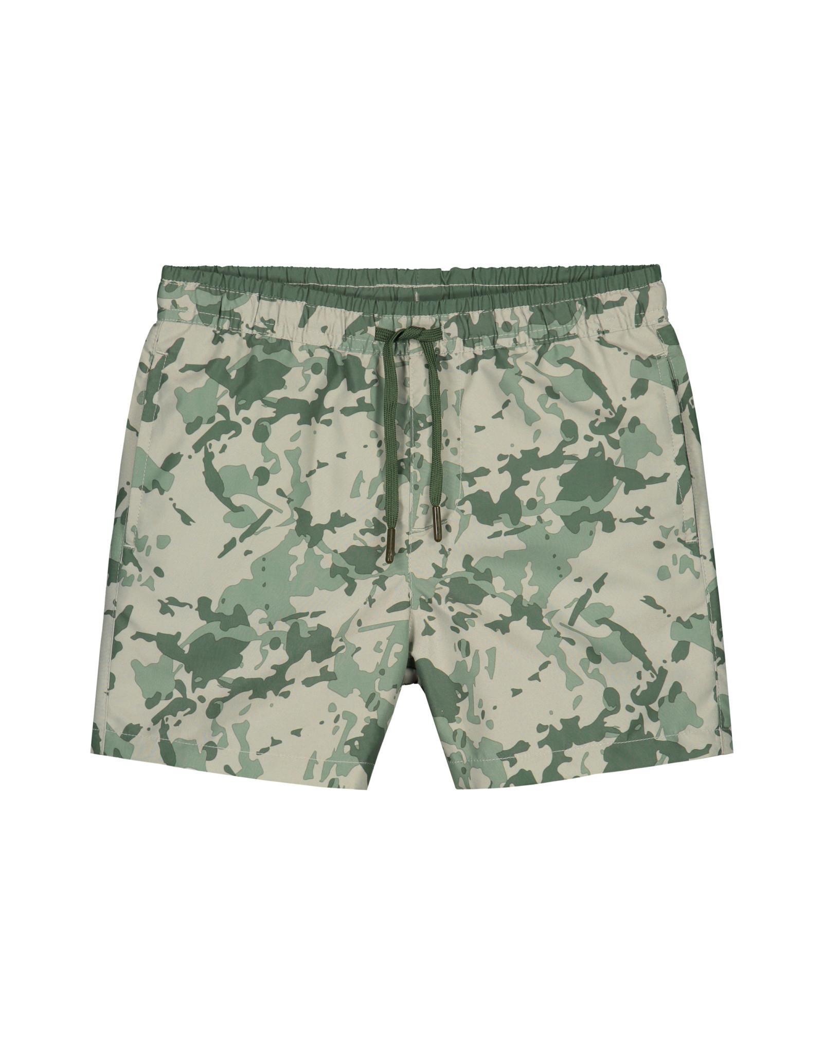 LEVV Levv jongens zwembroek Fos Green Bay Army