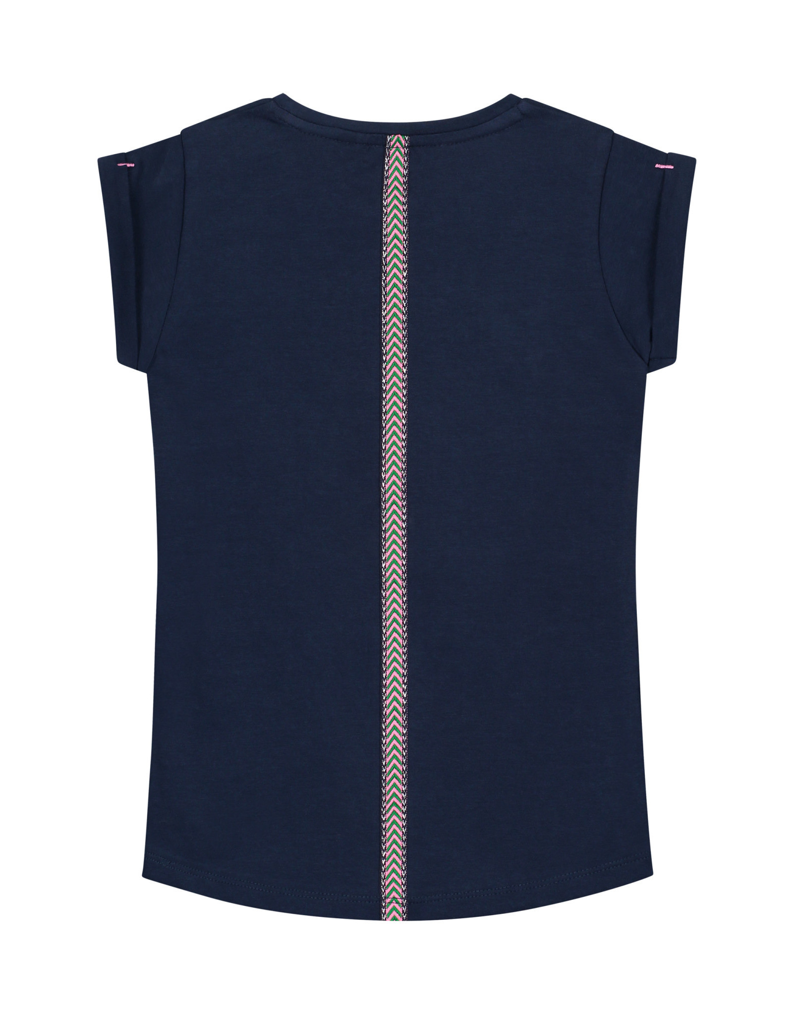 Quapi Quapi meisjes t-shirt Amalia Oxford Blue