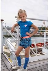 Lovestation meisjes sokken Plain Blue
