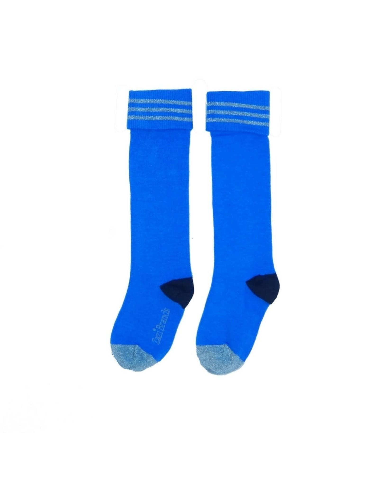 Lovestation Love Station meisjes sokken Plain Blue