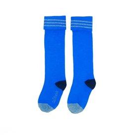 Love Station meisjes sokken Plain Blue