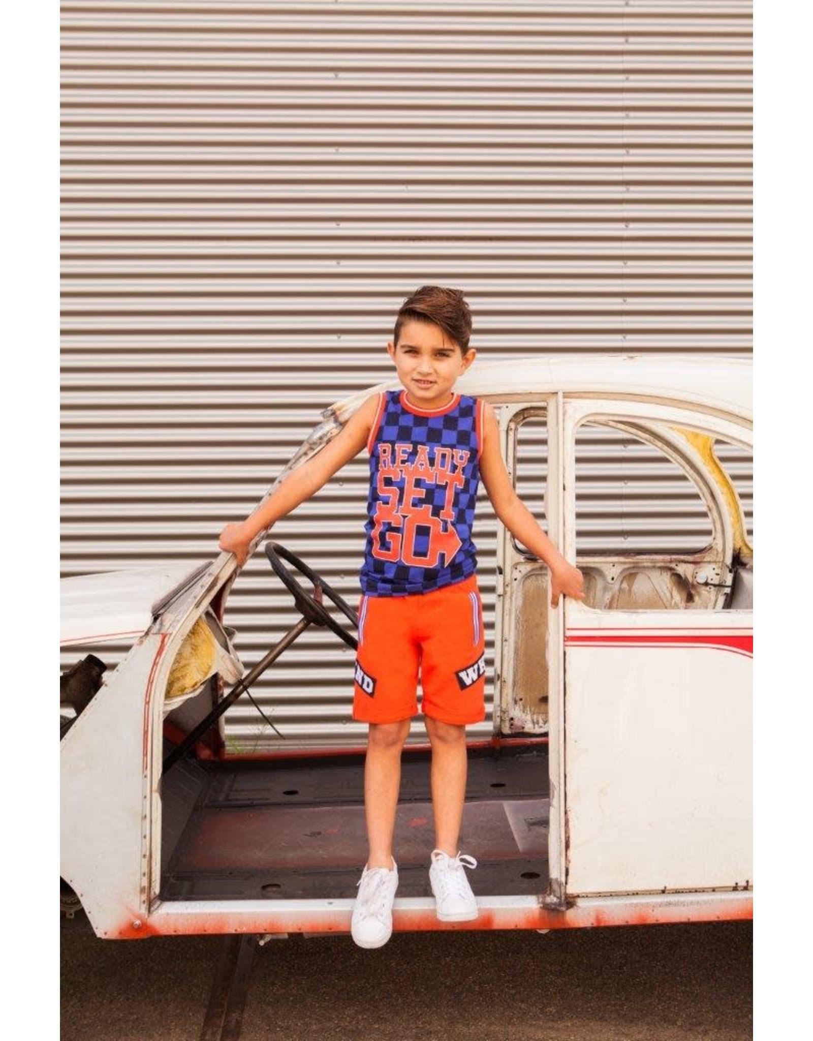 B'Chill B'Chill jongens korte joggingbroek Noah