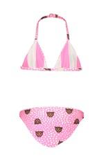 B.Nosy B.Nosy meisjes reversible triangle bikini Tiger Dots