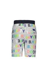 B.Nosy B.Nosy jongens korte joggingbroek aop letter B.happy
