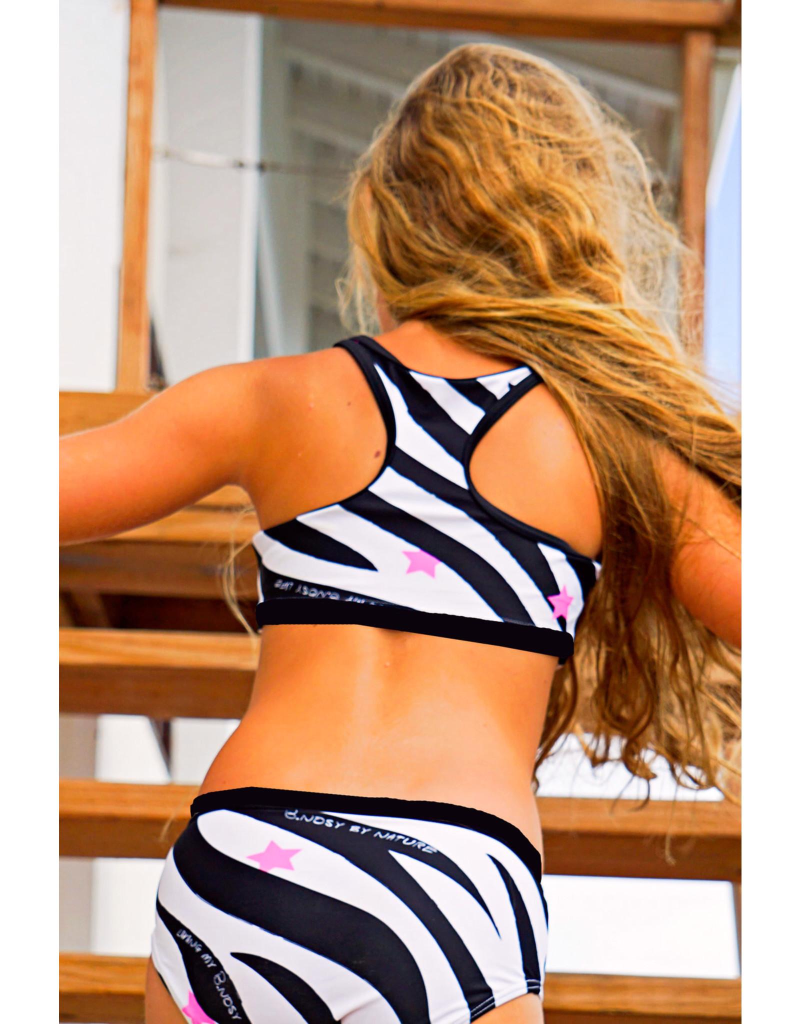 B.Nosy B.Nosy meisjes sporti bikini AO Zebra
