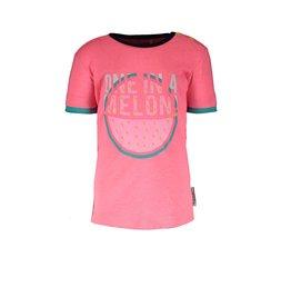 B.Nosy B.Nosy baby meisjes t-shirt Melon Festival Pink