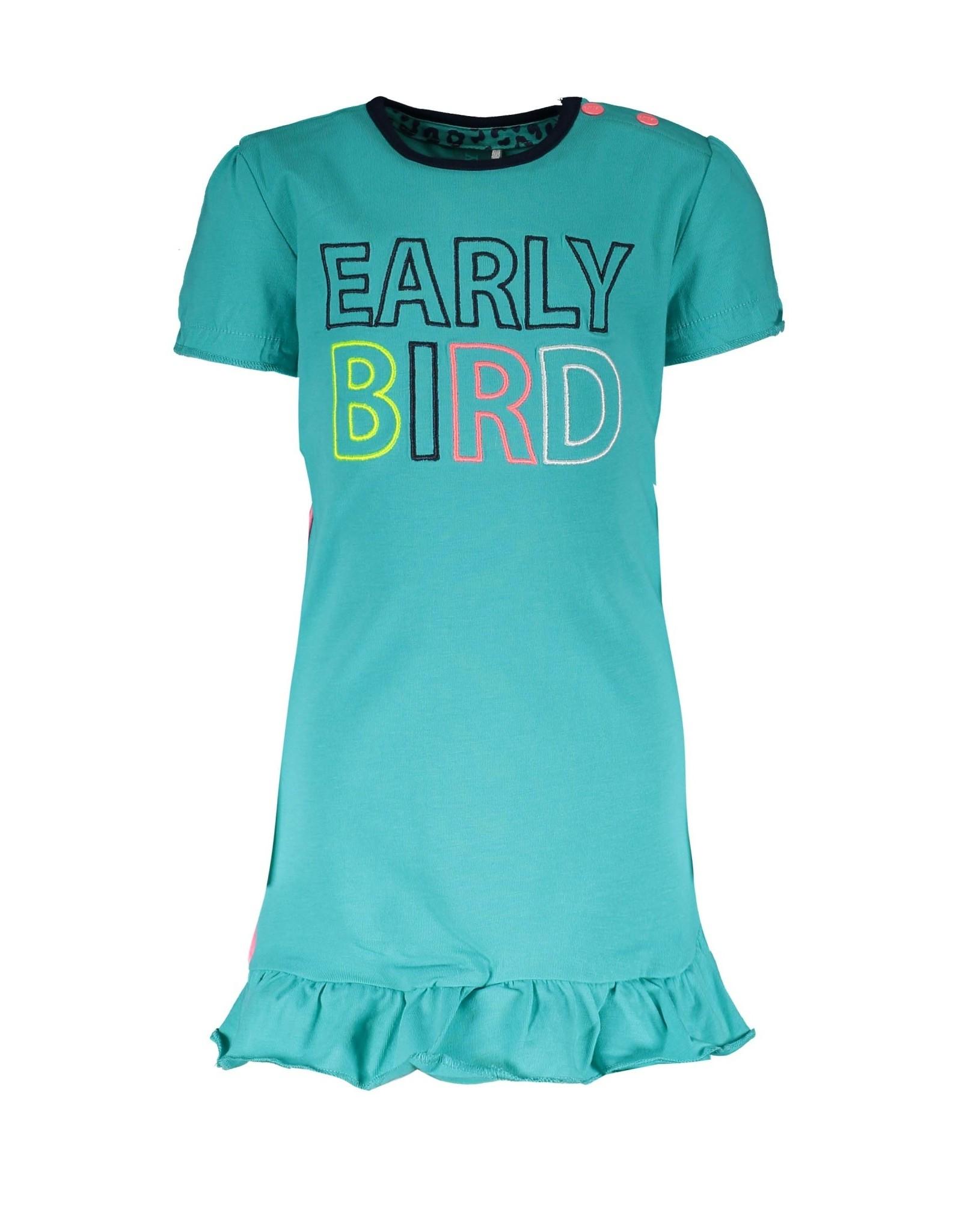 B.Nosy B.Nosy baby meisjes jurk Early Bird Ceramic