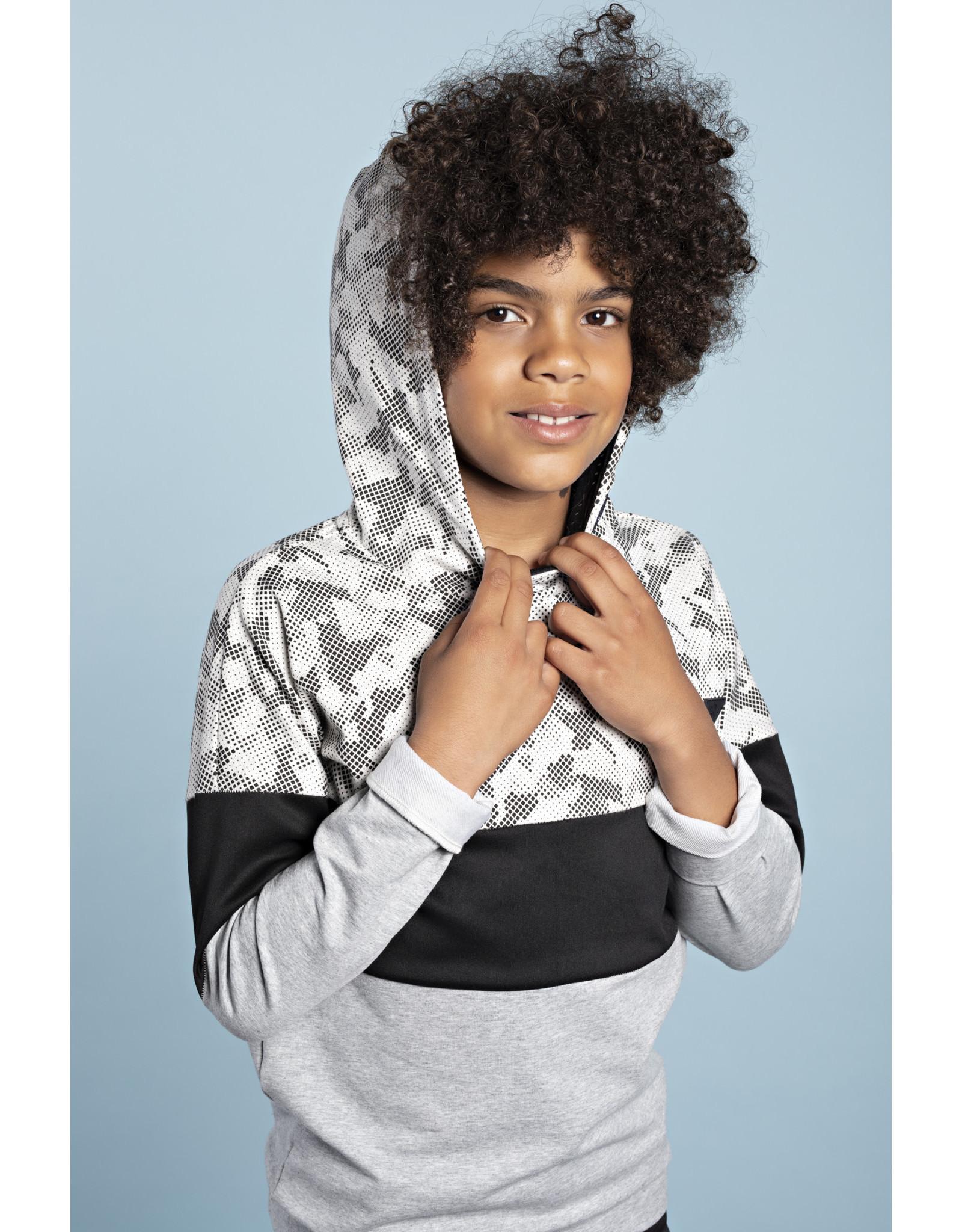 Bellaire Bellaire jongens hoodie Kunc Jet Black