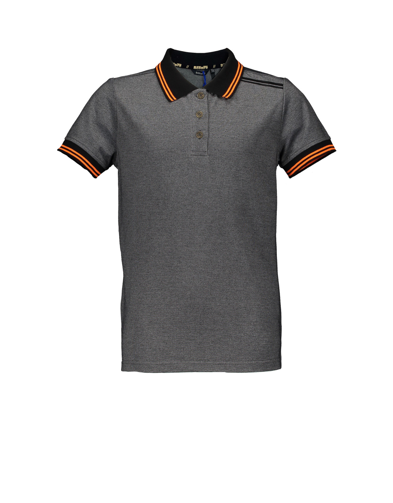 Bellaire Bellaire jongens polo t-shirt Kolo Jet Black
