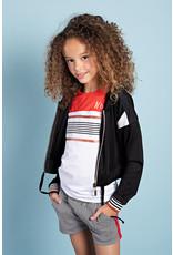 NoBell meiden kort vest Dissy Jet Black
