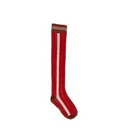 NoBell NoBell meiden lange sokken Rino Fresh Tomato