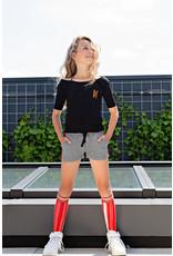 NoBell meiden lange sokken Rino Fresh Tomato