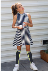 NoBell meiden lange sokken RinoB Navy Blazer