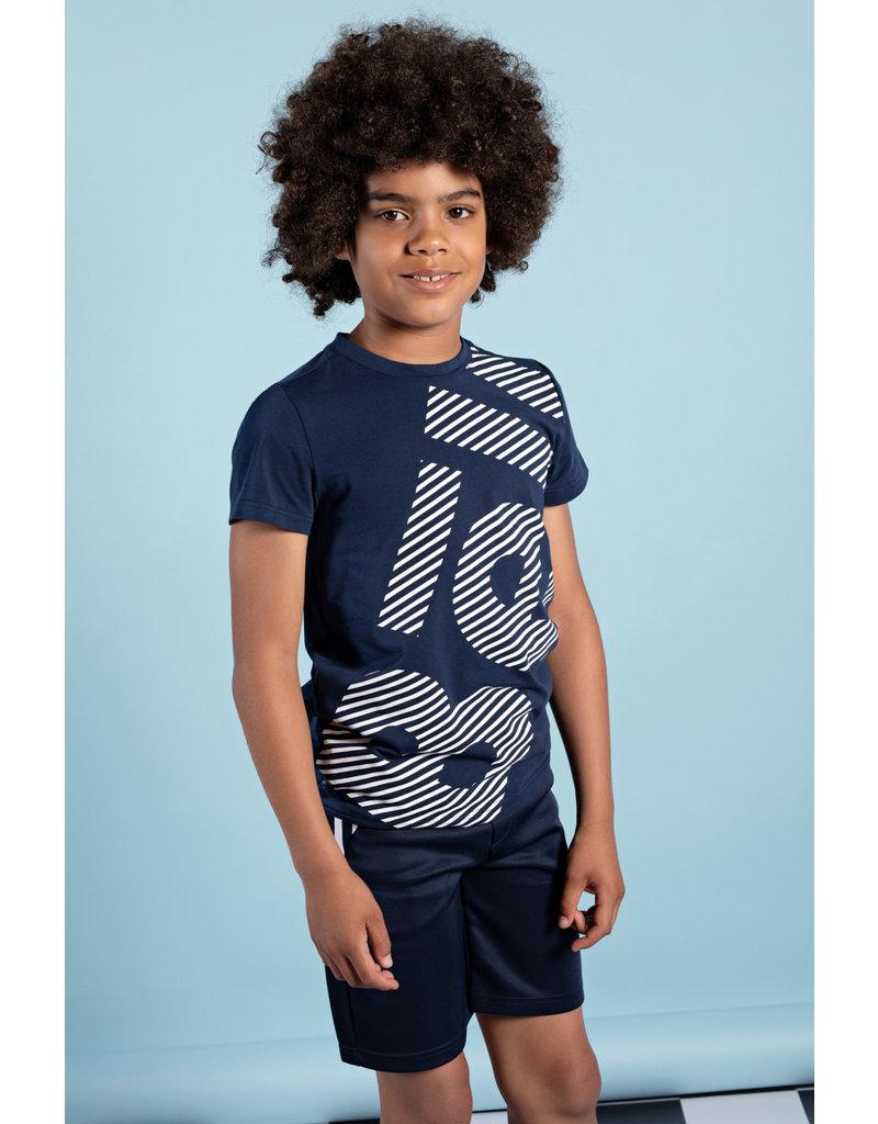 Bellaire Bellaire jongens t-shirt KarstB Navy Blazer