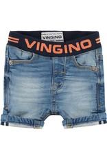 Vingino Vingino baby jongens korte jeans Coos Blue Vintage