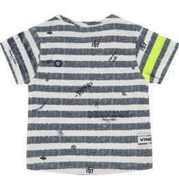 Vingino Vingino baby jongens t-shirt Held Blue Stripe