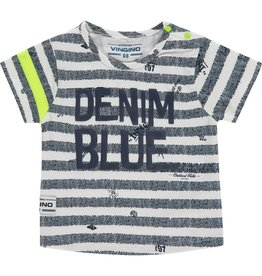 Vingino Vingino baby jongens t-shirt Held Blue Stripe