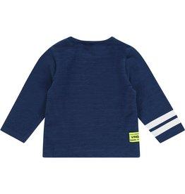 Vingino Vingino baby jongens shirt Jay Indigo Blue