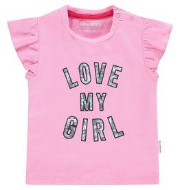 Vingino Vingino baby meisjes t-shirt Heidi Hot Lips