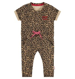 Vingino Vingino baby meisjes jumpsuit Plisa Multicolor Brown