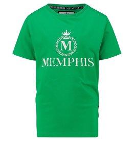 Vingino Vingino jongens Memphis t-shirt Hozano Green