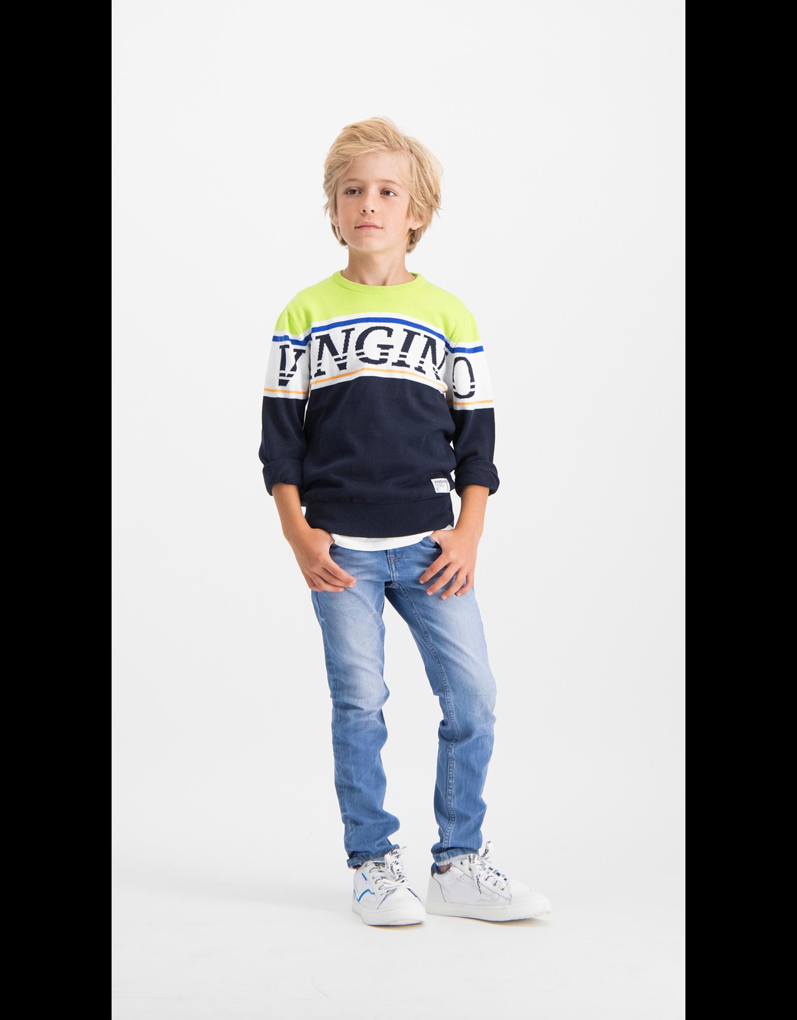 Vingino Vingino jongens 4-way strech jeans Alfons Light Vintage