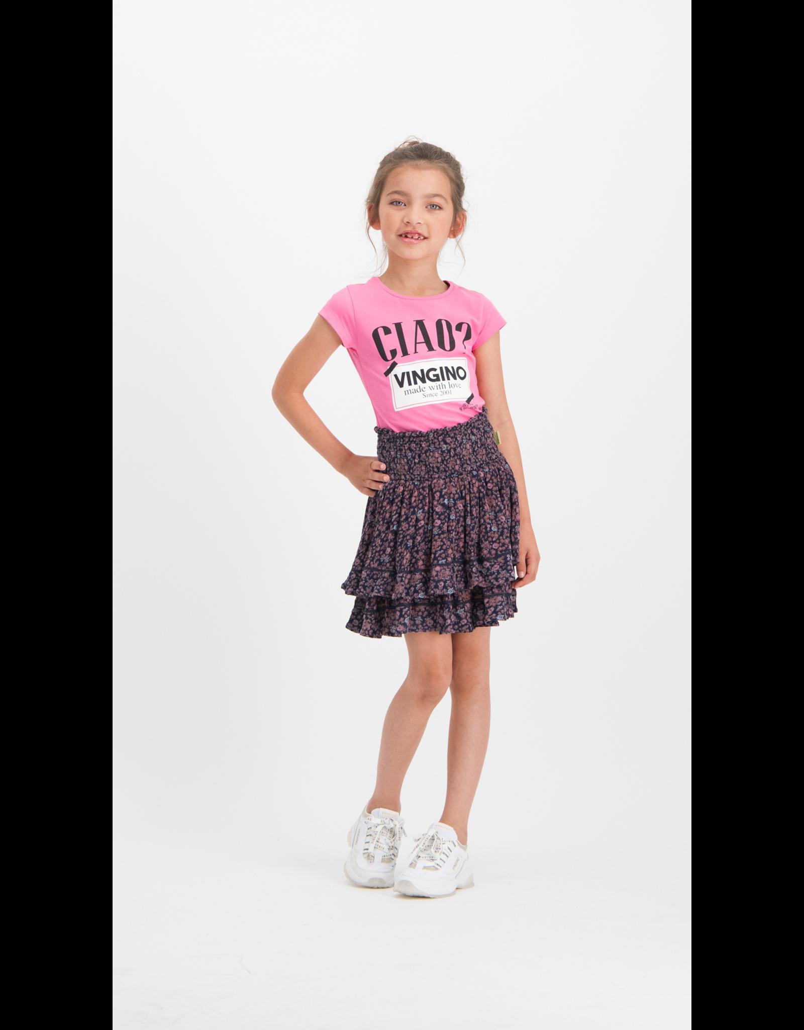 Vingino Vingino meiden t-shirt Hinry Gloss Pink