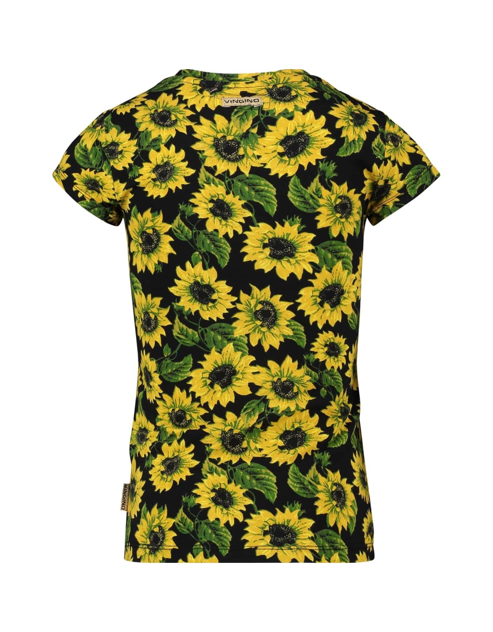 Vingino Vingino meiden t-shirt Hattiya Deep Black