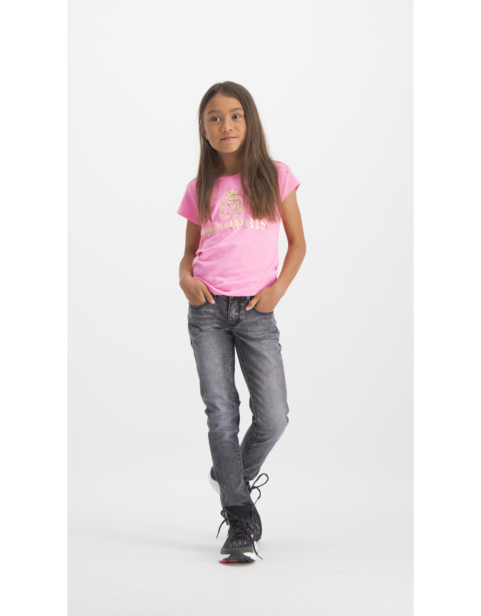 Vingino Vingino meiden Memphis t-shirt Hila