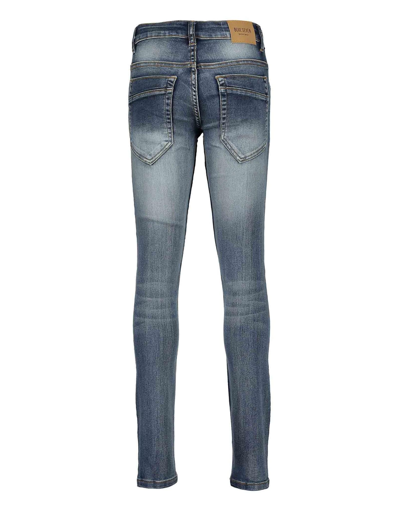 Blue Seven Blue Seven jongens super stretch jeans Neon Lights Blue