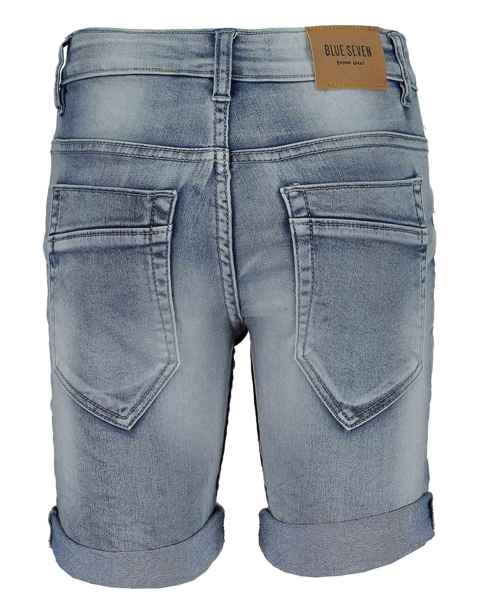 Blue Seven Blue Seven jongens korte jeans Neon Lights LT Blue