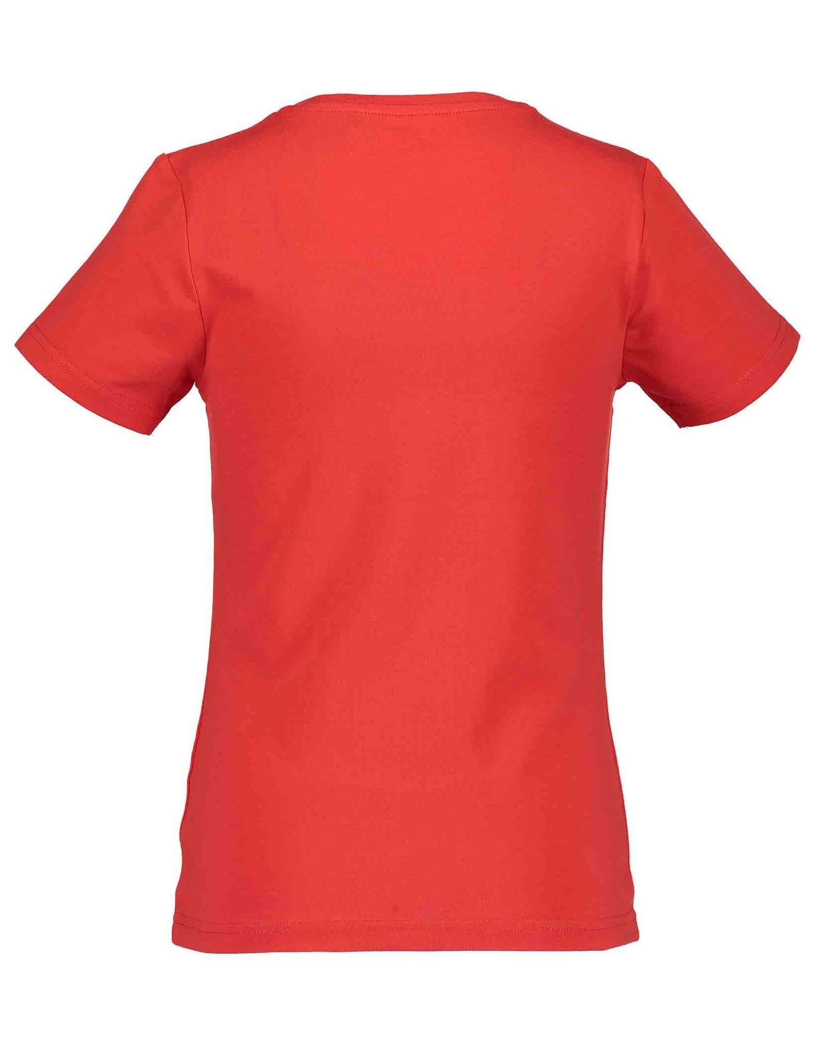 Blue Seven Blue Seven meiden t-shirt Stay True Red