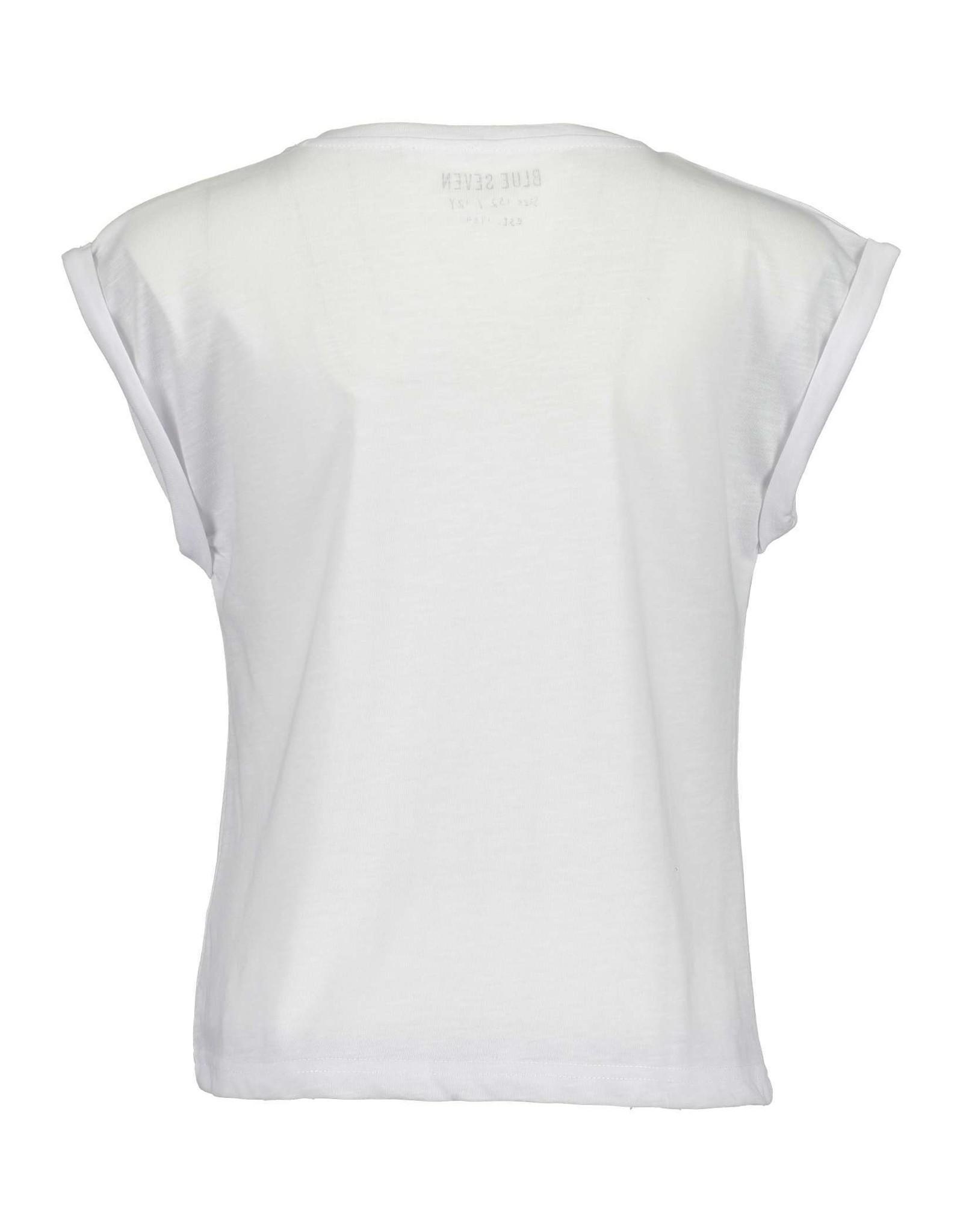 Blue Seven Blue Seven meiden t-shirt Be Wild White