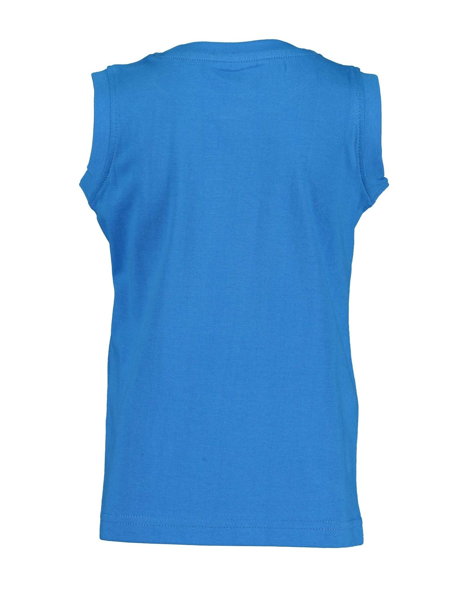 Blue Seven Blue Seven jongens hemd Soccer Cyan