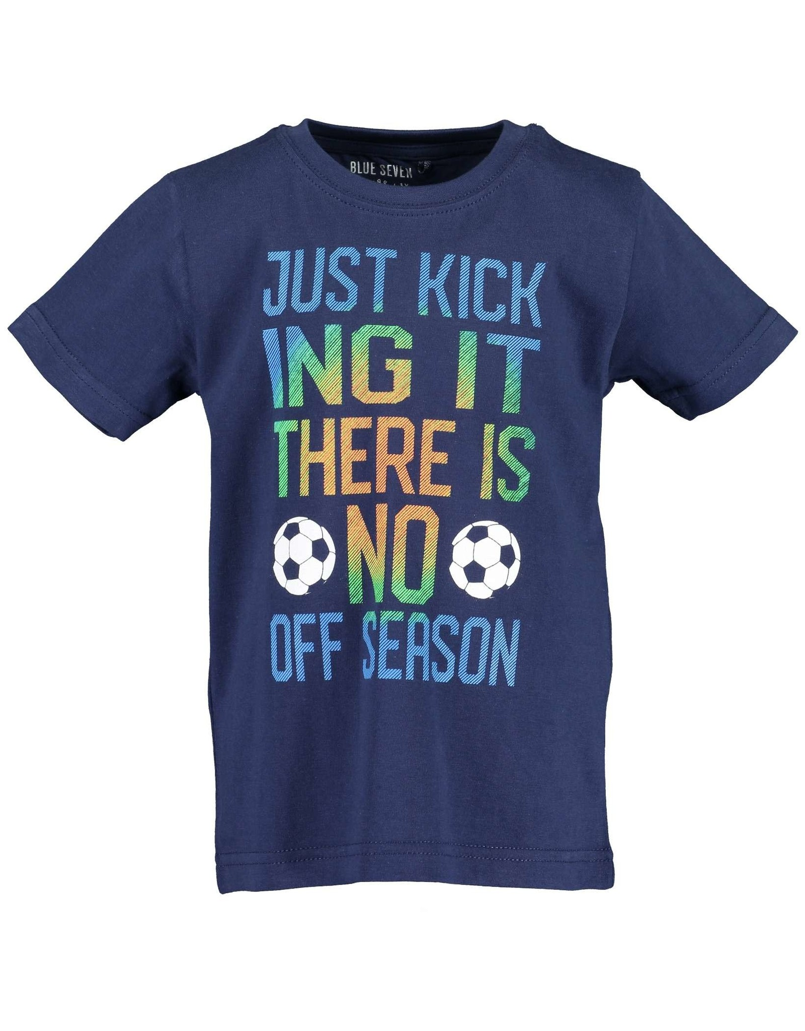 Blue Seven Blue Seven jongens t-shirt Soccer DK Blue