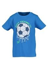 Blue Seven Blue Seven jongens t-shirt Soccer Cyan