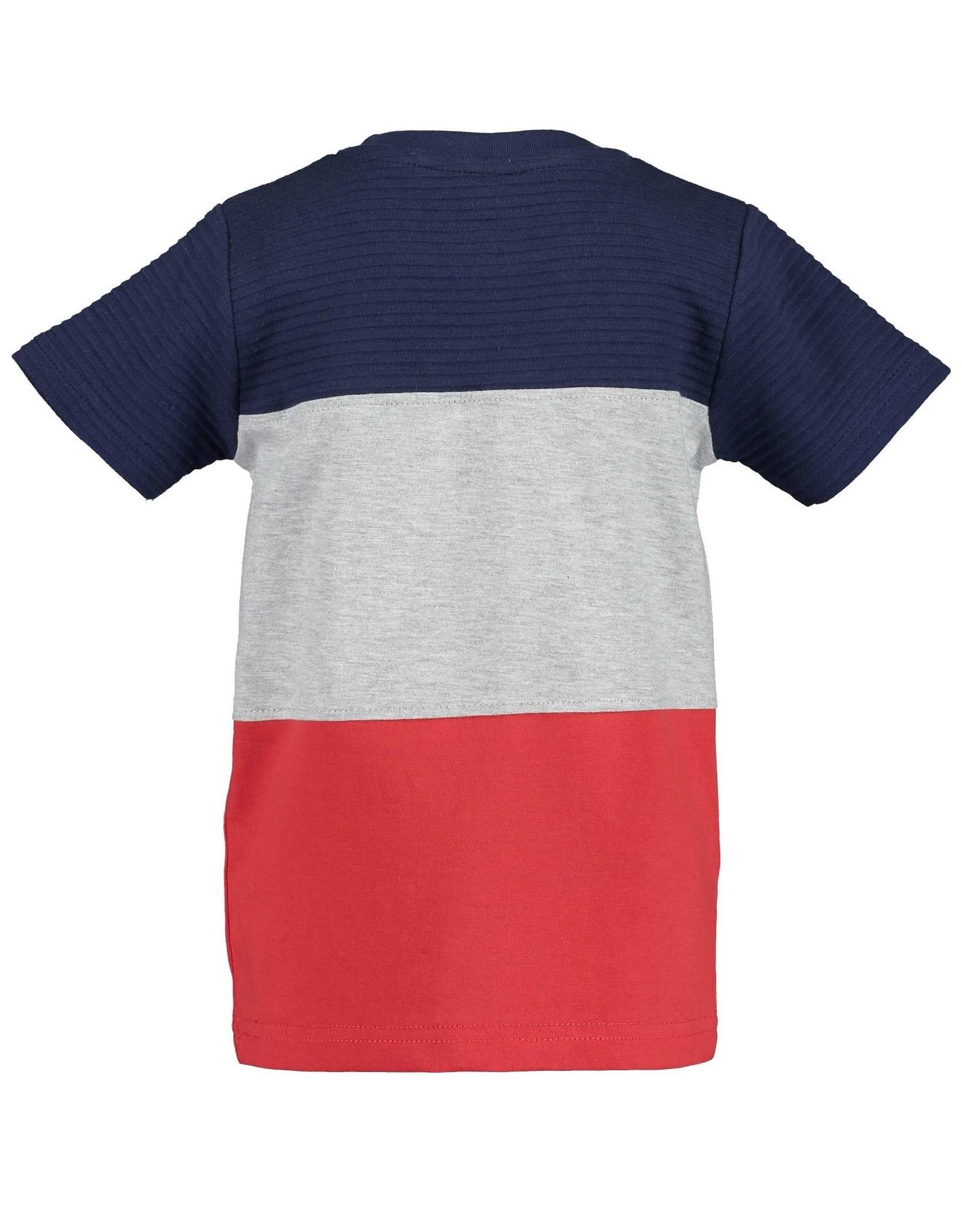 Blue Seven Blue Seven jongens t-shirt Xtreme Cars Red