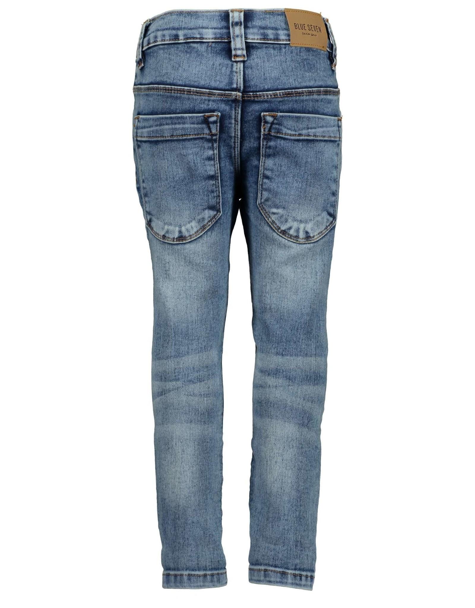 Blue Seven Blue Seven meisjes jeans Basics Jeansblue