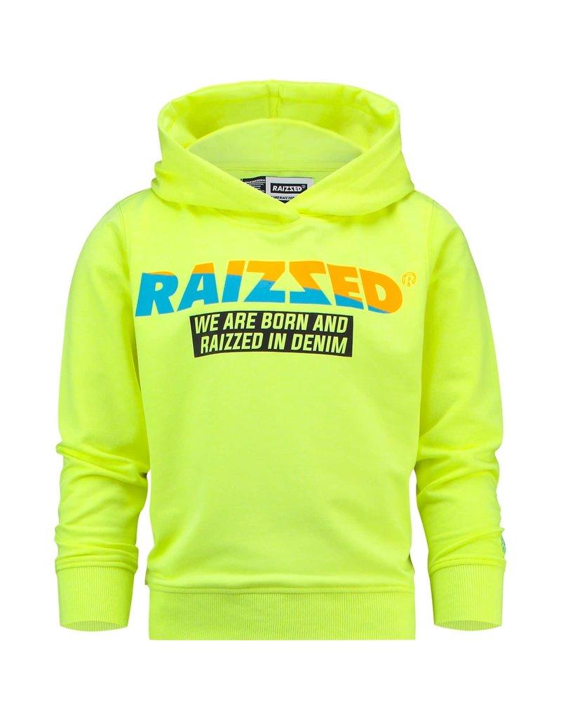 Raizzed Raizzed jongens hoodie Newark Sparkle Lime