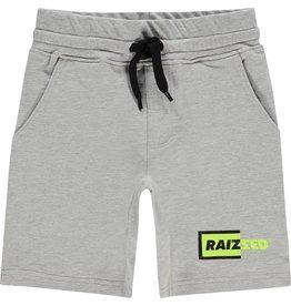 Raizzed Raizzed jongens korte joggingbroek Reno Light Grey Melee