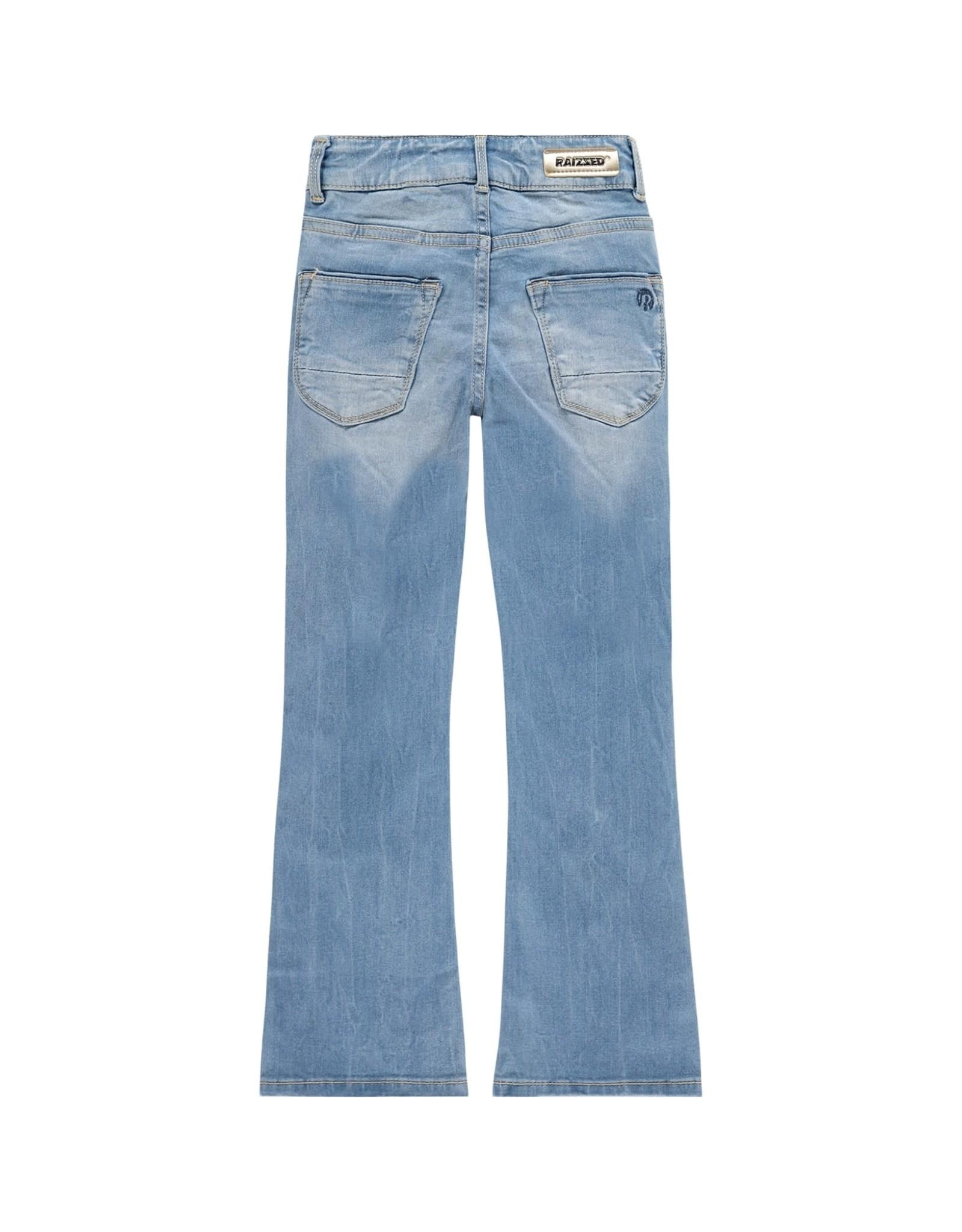 Raizzed Raizzed meisjes flaired jeans Melbourne Light Blue Stone
