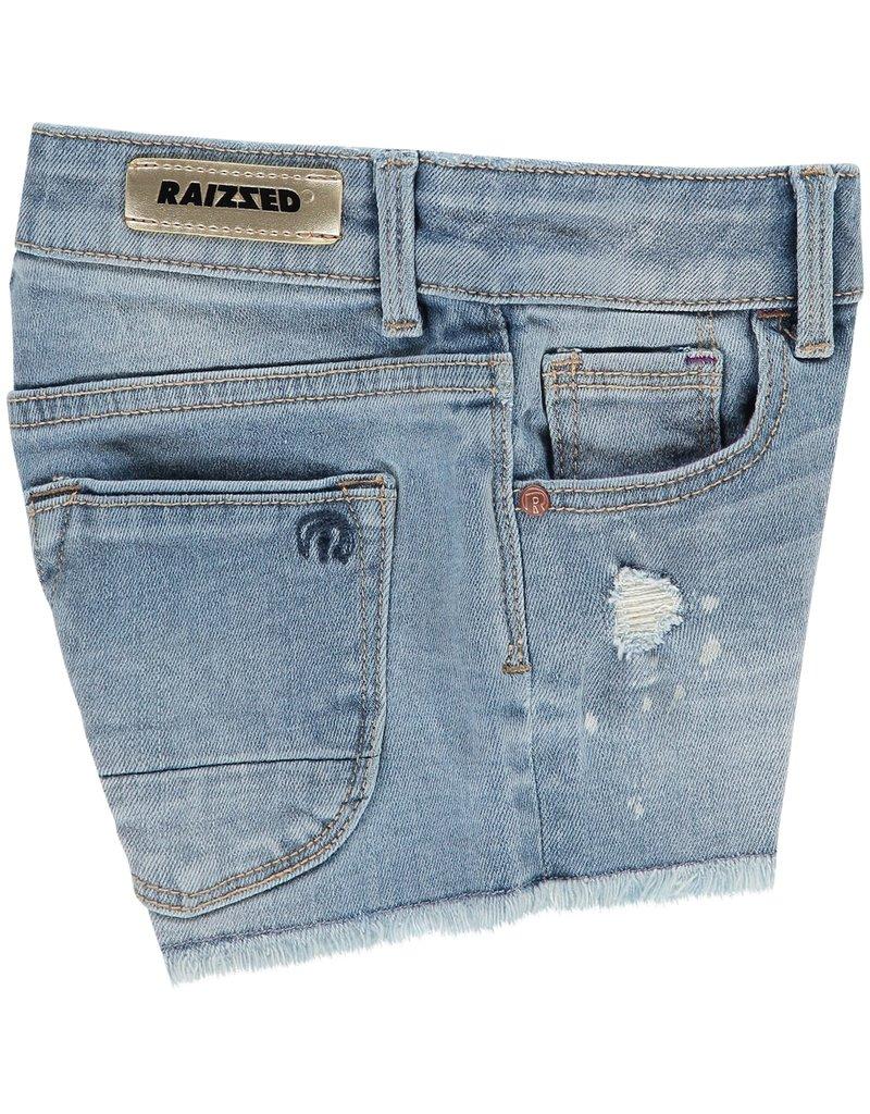 Raizzed Raizzed meisjes korte jeans Louisiana Light Blue Stone