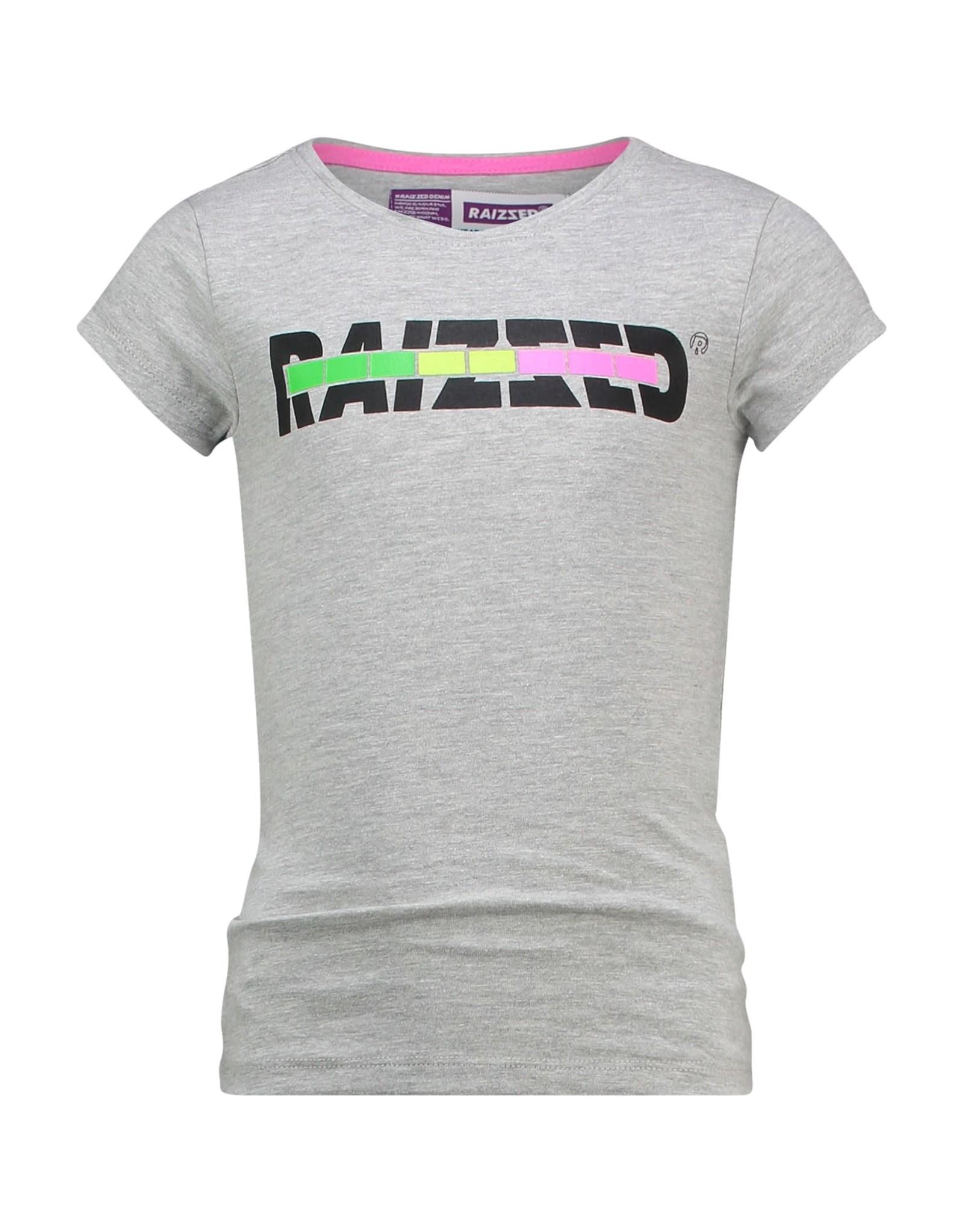 Raizzed Raizzed meisjes t-shirt Venice Light Grey Melee