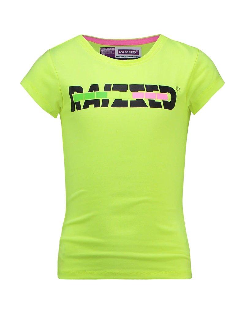 Raizzed Raizzed meisjes t-shirt Venice Sparkle Lime
