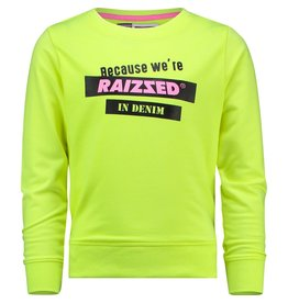 Raizzed Raizzed meisjes sweater Dakota Sparkle Lime