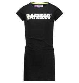 Raizzed Raizzed meisjes jurk Malaga Deep Black