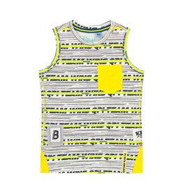 Quapi Quapi baby jongens hemd Bodi Empire Yellow Stripe