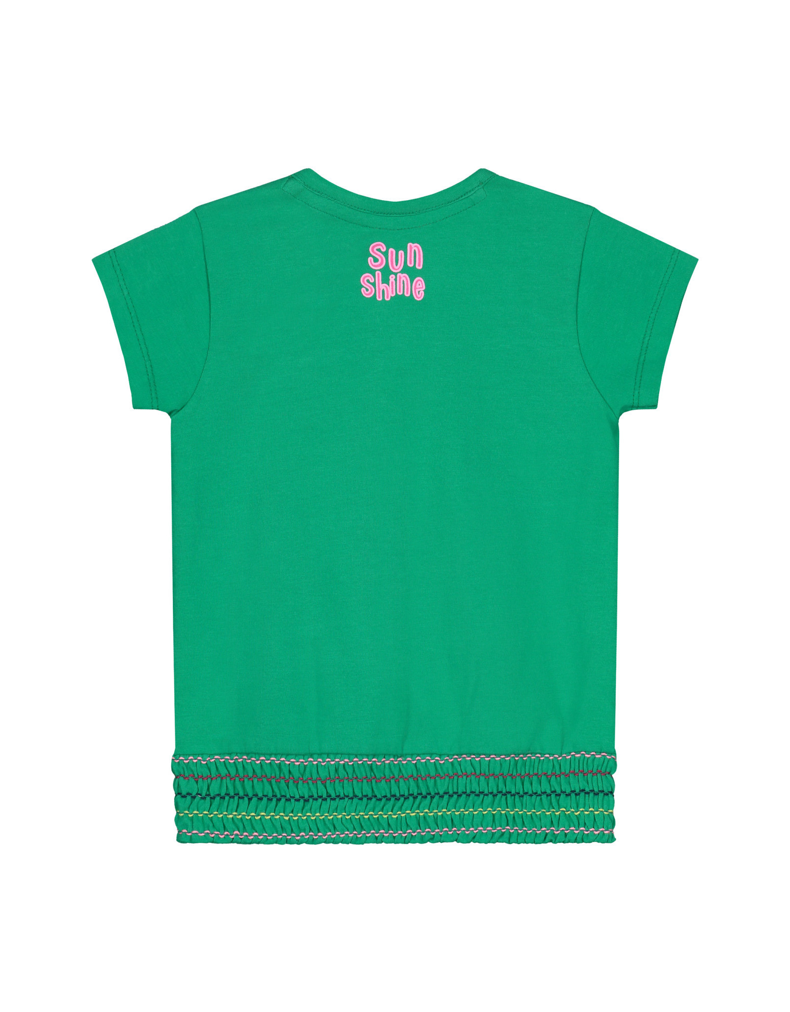 Quapi Quapi baby meisjes t-shirt Bibe Jungle Green