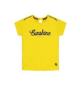 Quapi Quapi baby meisjes t-shirt Bijou Banana Yellow