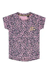 Quapi Quapi baby meisjes t-shirt Bliss Light Pink Leopard